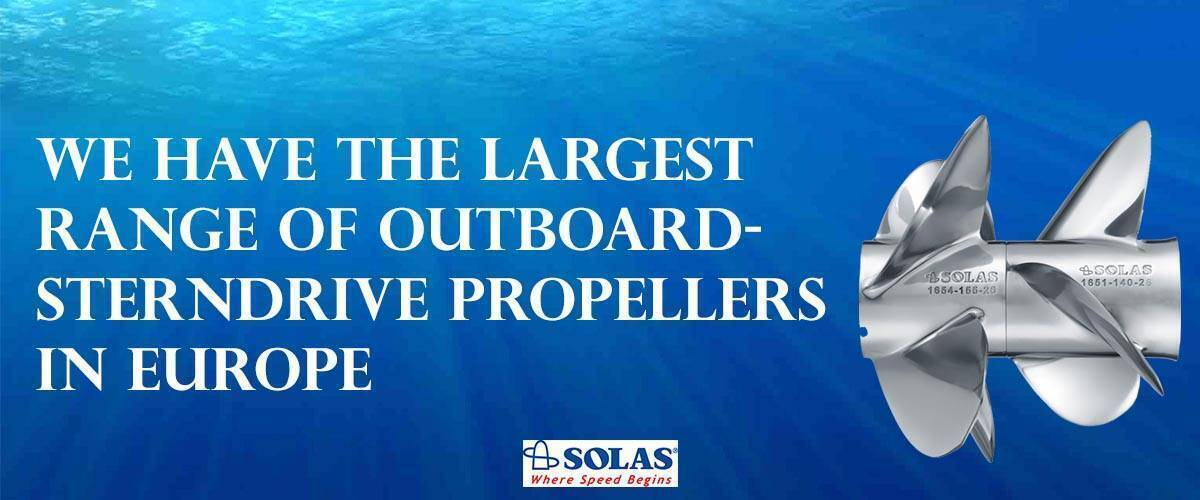 The Largest Range of Outboard-Sterndrive Props